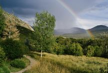 """Smith Fork Ranch Panoramas / There are few places better to enjoy spectacular Rocky Mountain sights here than Smith Fork Ranch, where we've perfected the """"rustic luxury"""" approach to an all-inclusive guest ranch vacation."""