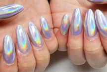 Holographic Nail Art Designs