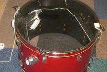 Drum Coffee Table & Light