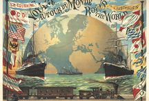 Ships, Boats, and Nautical Travel Posters / Vintage poster art featuring all things nautical!