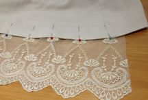 Lengthening with lace