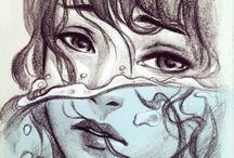 illustrate girls