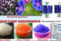 Use Silica Gel to Dry Flowers / There are several ways to dry plants and flowers with SILICA GEL to preserve them for dried flower arrangements..