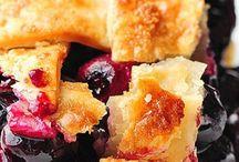 Cakes, breads & desserts
