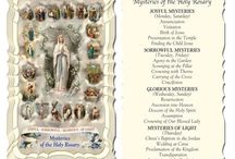 Religious Prayer Cards and Books! / Books,Mysteries, prayer cards and more!