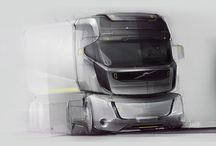 트럭 스케치