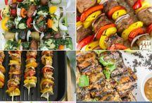 Summert bbq food