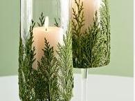 candle/centerpiece ideas
