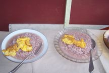 Malagasy breakfast / Although the classic Malagasy meal of rice and its accompaniment remains ..... Mofo gasy is a popular breakfast food and is often eaten with coffee