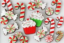 Xmas Cookies and Ideas / by Miss Candee