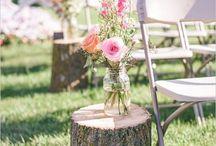 Outdoor Wedding | Inspiration / Heiraten unter freiem Himmel - ein Traum. Diese Bilder geben dir Inspirationen wie eure Hochzeit am Strand, in einem Wald oder auf einer Wiese aussehen könnte.
