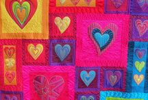 Quilt with heart