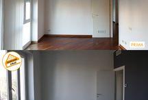 Prima&dopo / Si tratta del prima&dopo di ristrutturazione di appartamenti a Milano