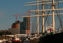 """Hamburg, Germany -- http://travelin-mate.com/Hamburg_Germany/Hamburg.html / The maritime metropolis carries the nickname """"Gateway to the World"""" and is in my opinion the most beautiful city in Germany. Amongst other things Hamburg features the largest German seaport, a scenic lakefront, quaint riverbanks, beautiful architecture from the 19th and 20th century, a modern harbor city, high-end shopping, a wide selection of cultural activities. In short: everything you need for an awesome city break... Read more @: http://travelin-mate.com/Hamburg_Germany/Hamburg.html"""