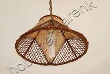 Deri Abajur Yapımı---Making leather lampshade