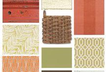 Colour Palette - Autumn Hues