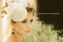 Noivas de editoriais / #Casamento #Penteados #Noiva
