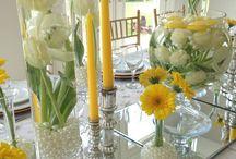 Velikonoce - stolování
