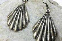 Geometric Silver Earrings, Statement Earrings, Silver, Boho Earrings, Gypsy Earrings