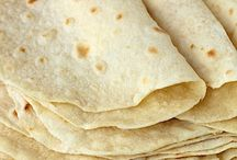 Home made flour tortillas