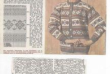 Gamle kofter og gensere - old norwegian knitting