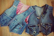jeans kamizelki