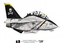 Caricature aviazione
