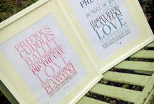 Christening Ideas / Lots of ideas for christening prints :-)