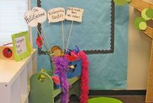 Kindergarten Back to school ideas / Back to school ideas for the classroom ~ decor, room arrangement, and activities.