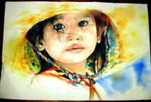 Watercolor painting / by Sue Gunn