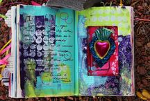 My Altered Books / Using recycled materials to create a beautiful new piece of art by Veronica Funk.  www.veronicafunk.com