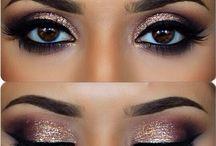 glamourous make-up ideas