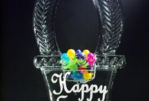 Ice for Easter / AppleIce.com #Apple #Ice #AppleIceInc #Easter #April #Spring #Bunny #Bunnies #Basket #Egg #Eggs #Flower #Lilly #Happy #Color #Colorful #Butterfly #Bowl #Sculpture #Centerpiece #Luge #Restaurant #Bar #Catering #Hall #Event #Venue #Party #Garden #Country #Club #Birthday #Backyard #Beautiful #Stunning #Pretty #Lovely #Perfect #Love #Creative #Custom #Pink #Yellow #Green #Blue #Purple #Grass #NewYork #NewJersey #Connecticut