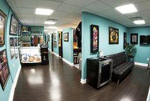 Tattoo Shop color