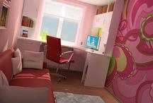 Kids Bedrooms / by Michaella DeLozier