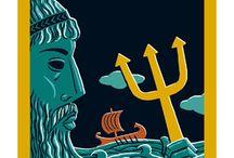 """Conociendo a Odiseo / Se recogen aquí los recursos que pueden valer a los alumnos y alumnas de 3º de Cultura Clásica para acercarse a la obra de Homero, conocer a los personajes y darle contenido a su trabajo sobre """"La Odisea""""."""