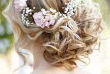 wedding hair bride