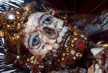 Bejeweled skeletons