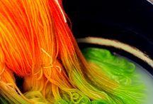 barvení příze