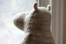 Strikk - leker / knitting