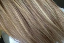 Blonde Strähnchen
