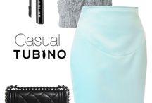 Pencil skirt Julietta Mint / Als je van pastels houdt, is dit de ideale rok voor jou. Het is gemaakt van glanzende Italiaanse wol, met een lichte stretch die soepel om je lichaam valt. Je kunt dit rokje hele jaar dragen, combineer het met een zomer panty en een lichte blouse of juist met blote benen en een kanten topje. De taupe kleur rits maakt de look af.  Deze rok accentueert je vormen en heeft een luxueuze uitstraling.