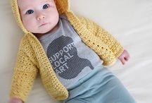 Tricô e Croché - Bebé e Criança - Casacos e Camisolas
