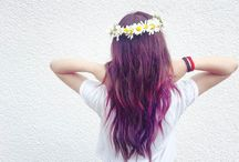 My color ombre hair