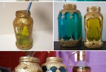 Crafts: recycled objects