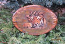 drewno zwierzenta