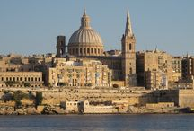 Malta / Malta is an independent nation which was once a British colony.  It is an archipelago in the central Mediterranean between Sicily and the North African coast.   It's a nation known for historic sites related to a succession of rulers including the Romans, Moors, Knights of Saint John, French and British. It has numerous fortresses, megalithic temples and the Hypogeum, a subterranean complex of halls and burial chambers dating to circa 4000 B.C.