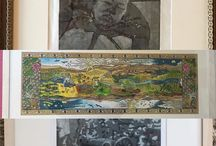my work 3 #prints in the #stives society of artists at Mariners gallery opens 28th may #art #exhibition #cornwall