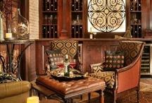 Club room / Traditional decor for a Club - Billard Room.