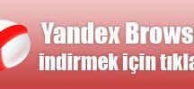 Yandex indir ve yükle
